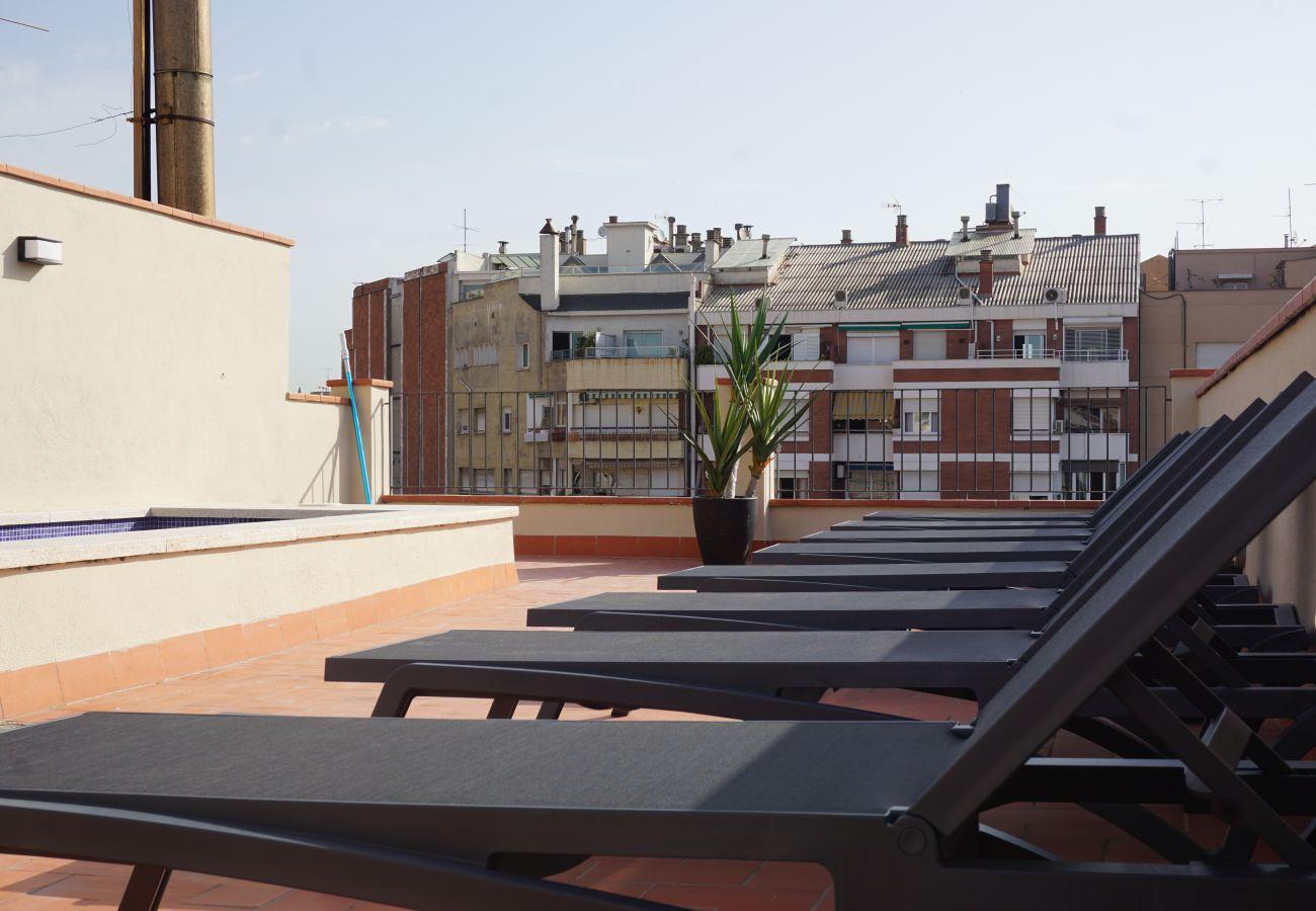 Apartamento em Barcelona - DELUXE, central, boho, views, 3 bedrooms