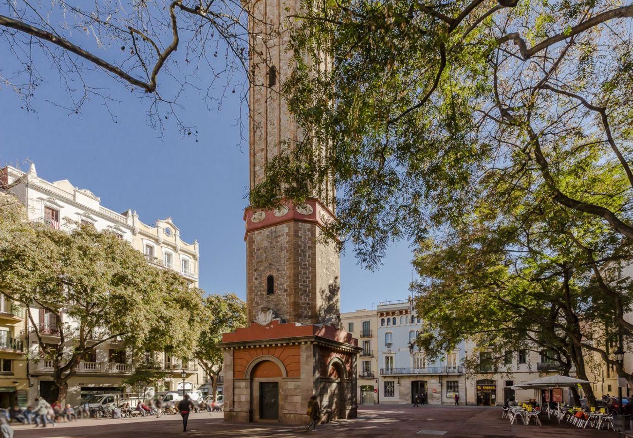 Apartamento em Barcelona - GRACIA BONAVISTA, spacious and with balcony