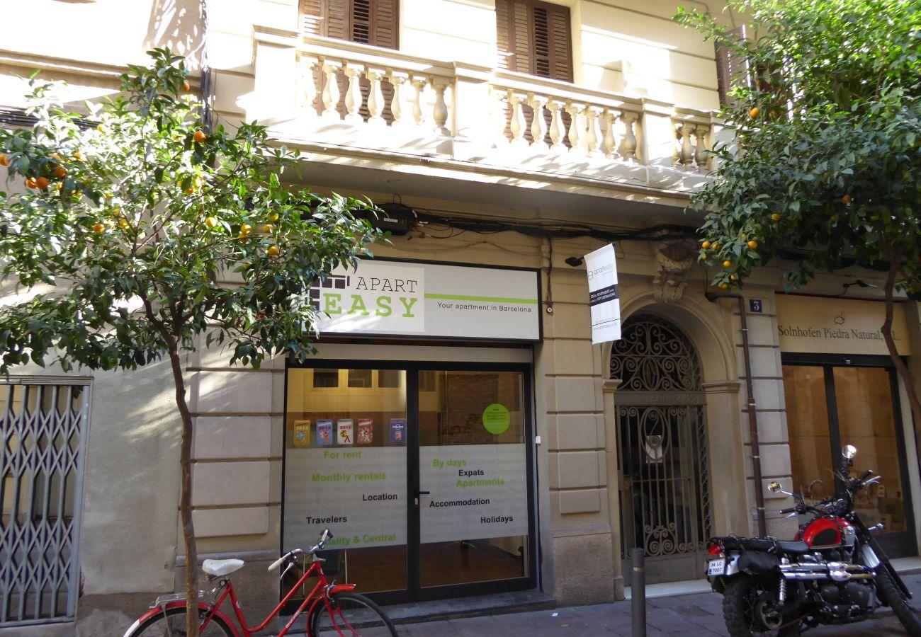Apartment in Barcelona - GRACIA SUITE, balcony
