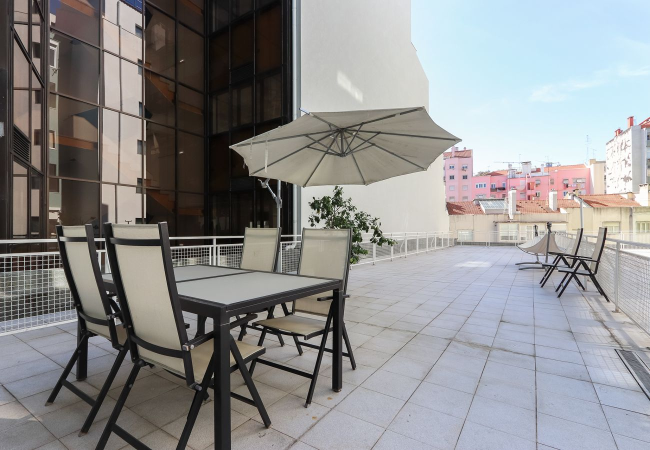 Apartment in Lisbon - ALMIRANTE TERRACE by HOMING