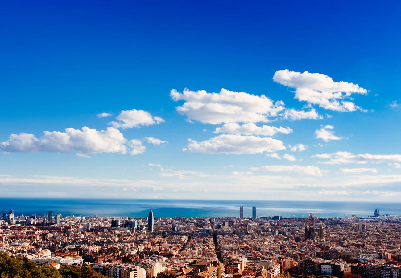 Apartment in Barcelona - GRACIA boho chic, balcony, trees
