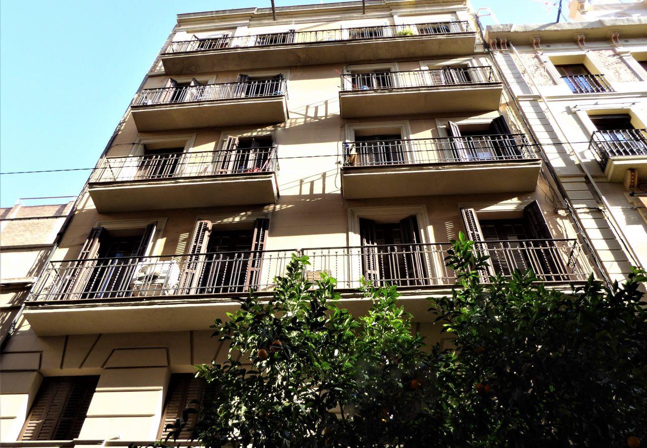 Apartamento en Barcelona - GRACIA boho chic, balcony, trees