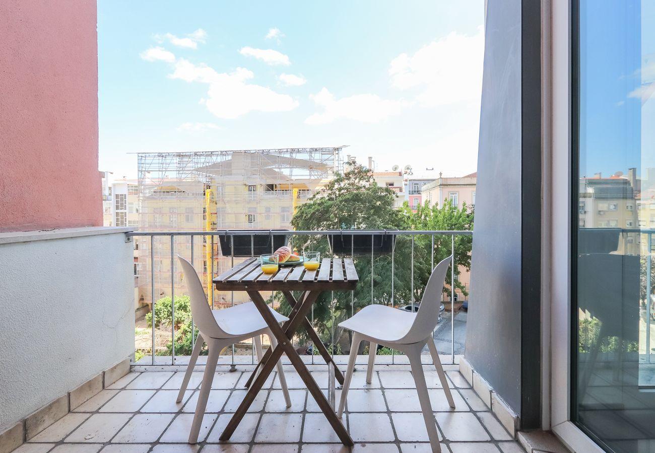 Apartamento en Lisboa ciudad - ALCANTARA BALCONY & BRIDGE by HOMING